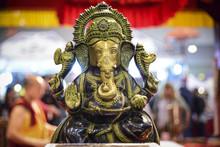 Ganesha, Hindu Deity With Proboscis And Four Arms