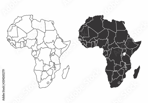Maps of the Africa