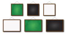 Set Of Realistic Vector Blackb...