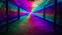 Rainbow Laser Light Tunnel Shi...