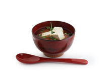 Miso Soup As A Recipe From Jap...