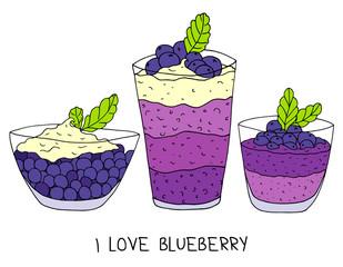 FototapetaBlueberry