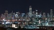 4K Timelapse Sequence of San Francisco, USA - Potrero Hill at night