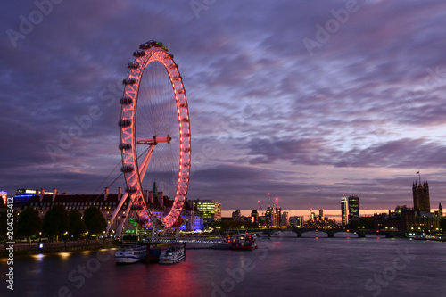 Fotografie, Obraz London Eye, Millenium Wheel, London, United Kingdom