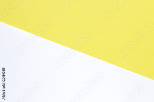 Yellow White Pastel Color Paper Texture Or Minimal Retro Background