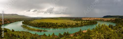 Fototapeta flathead river panorama 1 obraz