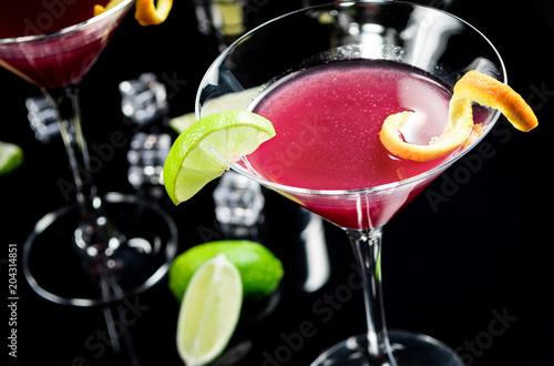 Tuinposter Cocktail Alcohol cocktail Cosmopolitan