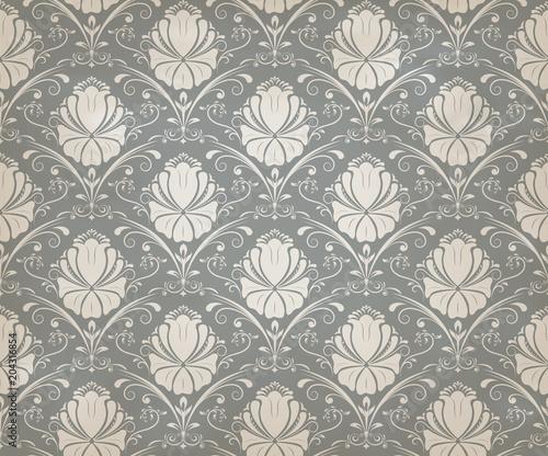 In de dag Kunstmatig vintage seamless pattern