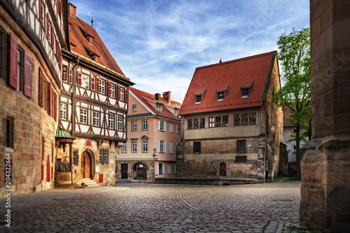 Esslingen medieval buildings