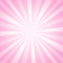 Abstract Light Soft Pink Rays ...