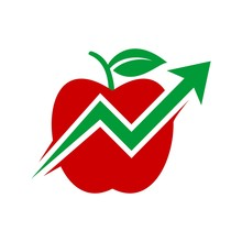 Apple Logo. Fruit Icon. Vectro...