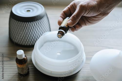 Fotografie, Obraz  Ultrasonic aroma diffuser.
