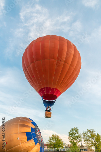 Tuinposter Luchtsport Hot Air Balloons