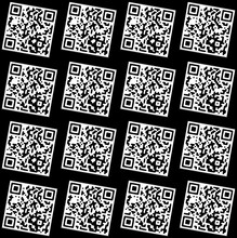 Seamless Pattern Withn A QR Code