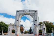 Bridge Of Remembrance At Day