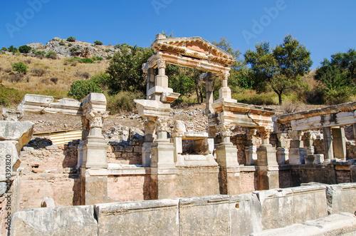 Deurstickers Rudnes Ancient Efes Efesus city ruins in Turkey