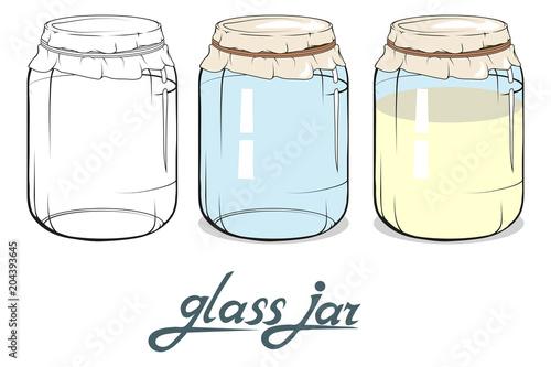 Glass jar Poster Mural XXL