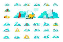 Emoji Sticker Big Set Characte...