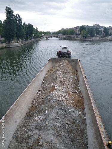 Fotografie, Obraz  Chiatta fluviale
