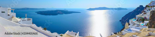 Oia na Santorini - Grecja