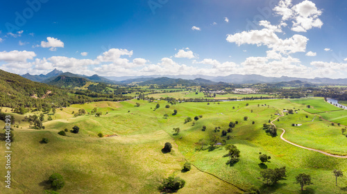 Aerial View of Murwillumbah