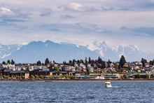 A View Of The City Of Everett From The Puget Sound