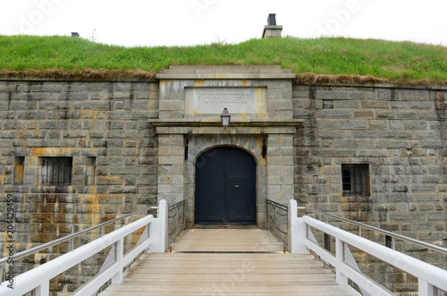 Foto Halifax Citadel National Historic Site on top of Citadel Hill in downtown Halifax, Nova Scotia, Canada