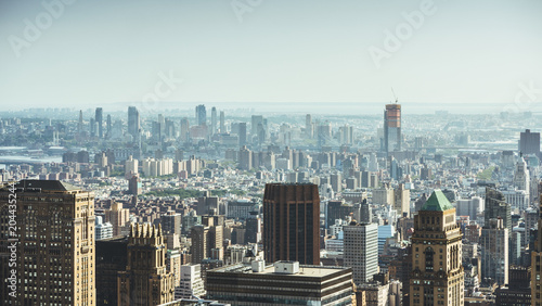 New York, USA / Aerial view