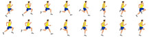 Man Run Cycle And Jogging Anim...