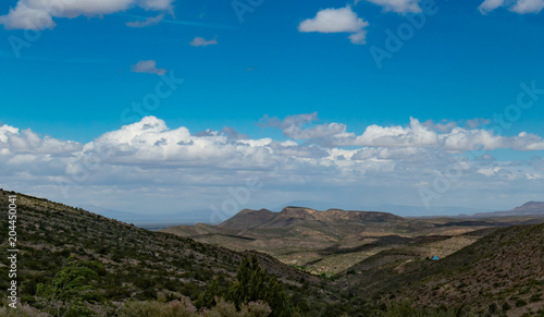 Foto op Canvas Blauwe jeans Landscape New Mexico