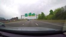 Driving Towards Pittsburgh Near North Shore