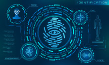 Biometric Identification Personality, Scanning Modern Access Control, Technology Recognition Authentication