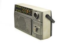 Retro Radio Transistor Isolate...