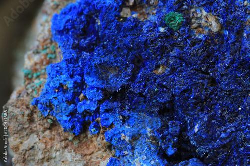 blue azurite mineral texture Wallpaper Mural