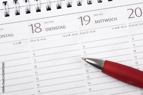 Fotografie, Obraz  Kalender