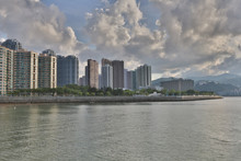 Tolo Harbour Landscape In Hong Kong Ma On Shan