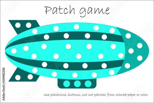 Education Patch game airship for children to develop motor skills ...