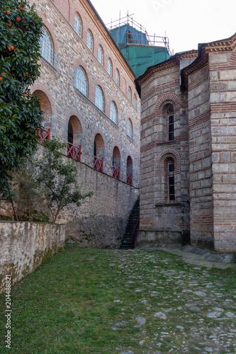 Fotografie, Obraz  Holy Mountain Athos, Greece, april 2018 – different views of monasteries interio