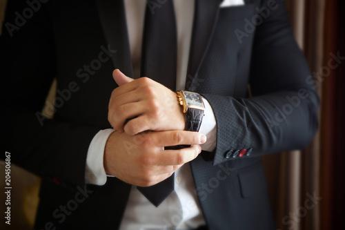 Fotografie, Obraz male hands
