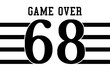 varsity slogan graphic with numbers