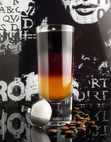 Foto op Aluminium Cocktail Cocktail in Deutschland Farben