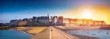 Spettacolare Veduta Di Saint Malo