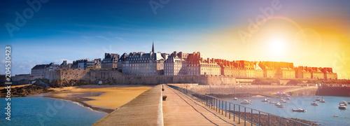 Photographie spettacolare veduta di Saint Malo
