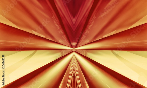 3D rendering of abstract technology background Canvas Print