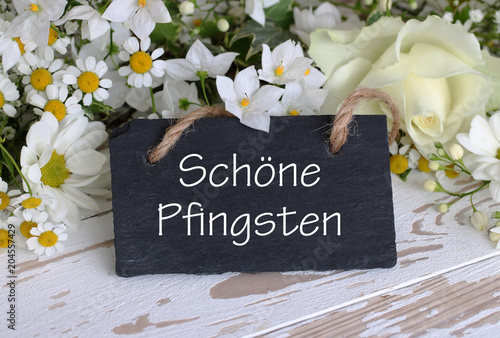 Papiers peints Echelle de hauteur Schöne Pfingsten