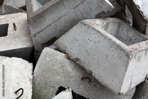 Fototapety, obrazy: Concrete blocks