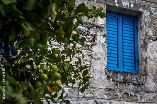 Tuinposter Cyprus Omodos Village Cyprus