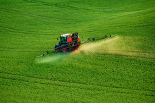 Farm Machinery Spraying Insect...