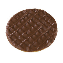 CHOCOLATE DIGESTIVE BISCUIT IS...