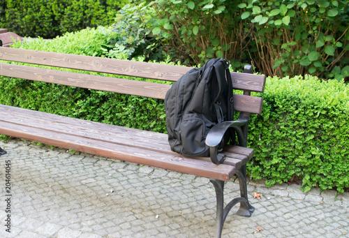 Fotografía  Suspicious Backpack or Threat Bag